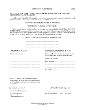 Free Download PDF Books, Mn.Gov Minnesota Durable Financial Power Of Attorney Form Template