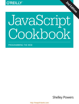 Free Download PDF Books, JavaScript Cookbook 2nd Edition Book