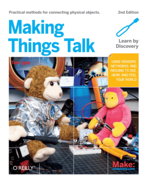 Free Download PDF Books, Making Things Talk, Second Edition