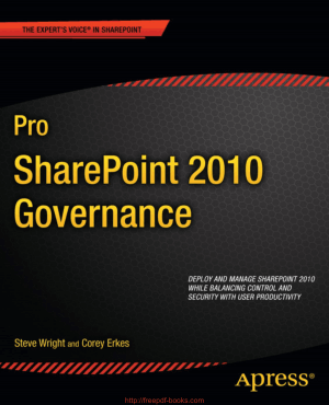 Free Download PDF Books, Pro SharePoint 2010 Governance