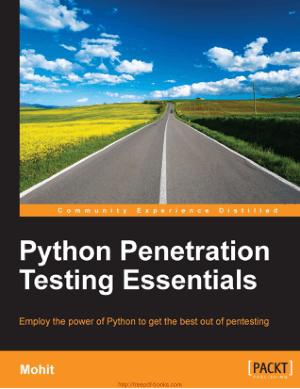 Free Download PDF Books, Python Penetration Testing Essentials Book