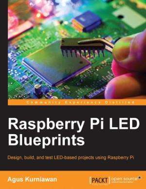 Free Download PDF Books, Raspberry Pi LED Blueprints
