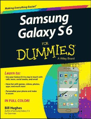 Free Download PDF Books, Samsung Galaxy S6 for Dummies