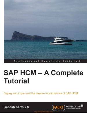 Sap Hcm – A Complete Tutorial Book | Free PDF Books