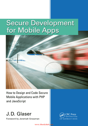 Free Download PDF Books, Secure Development for Mobile Apps
