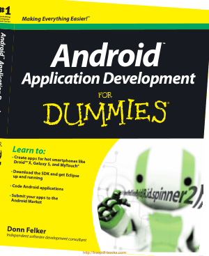 Android Application Development For Dummies, Pdf Free Download