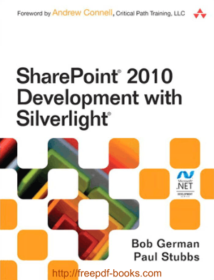 Free Download PDF Books, SharePoint 2010 Development with Silverlight
