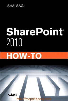 Free Download PDF Books, SharePoint 2010 How To