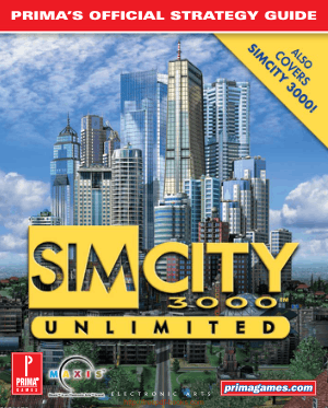 SIM City 3000 Primas Official Strategy Guide
