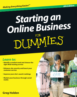 Free Download PDF Books, Starting an Online Business For Dummies 6th Edition