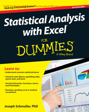 statistical analysis with excel for dummies pdf free download