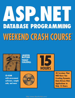 Free Download PDF Books, ASP.Net Database Programming Weekend Crash Course