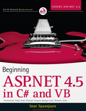 Beginning ASP.Net In C# And VB