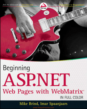 Beginning ASP.Net Web Pages With Web Matrix