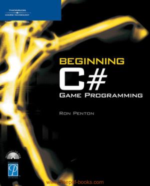 Beginning C# Game Programming, Pdf Free Download