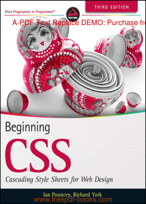 Free Download PDF Books, Beginning CSS For Web Design Third Edition