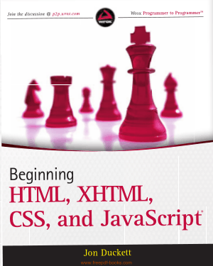 Free Download PDF Books, Beginning HTML XHTML CSS And JavaScript