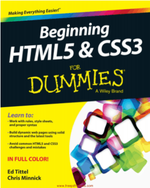 Free Download PDF Books, Beginning HTML5 And CSS3