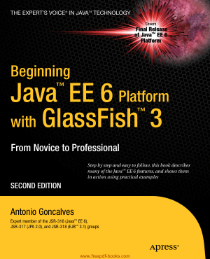 Beginning Java Ee 6 With Glassfish 3 2nd Edition Book | Free PDF Books