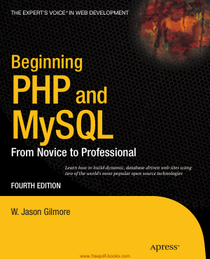 Free Download PDF Books, Beginning PHP And MySQL 4th Edition