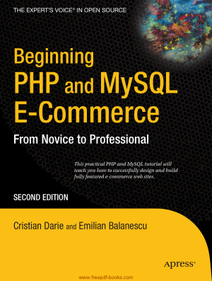 Beginning PHP And MySQL E-Commerce 2nd Edition