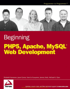 Beginning PHP5 Apache And MySQL Web Development