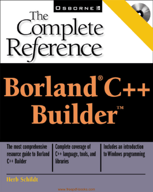 Free Download PDF Books, Borland C++ Builder The Complete Reference, Download Full Books For Free