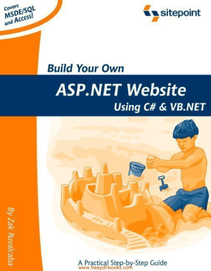 Build Your Own Asp Net Website Using C Sharp And Vb Net Pdf Free Download Book Free Pdf Books