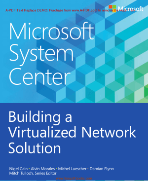 Free Download PDF Books, Building A Virtualized Network Solution Book, Pdf Free Download