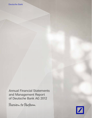 Free PDF Books, Annual Financial Statements and Management Report Template