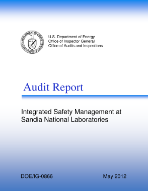 Free PDF Books, Integrated Safety Management System Audit Report Template