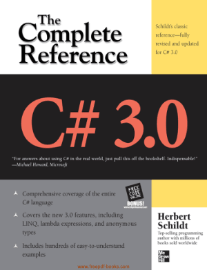 C# 3 The Complete Reference Herbert Schildt, Pdf Free Download