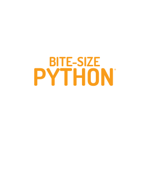 Free PDF Books, An Introduction to BITE SIZE Python Programming (2020)