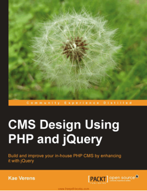 Free Download PDF Books, Cms Design Using PHP And jQuery, Pdf Free Download