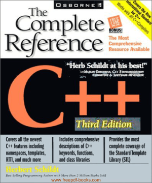 C++ Complete Reference 3rd Edition