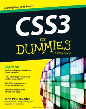 CSS3 For Dummies, Pdf Free Download