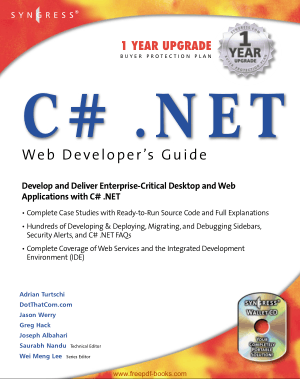 C# Dot.Net Web Developers Guide, Pdf Free Download