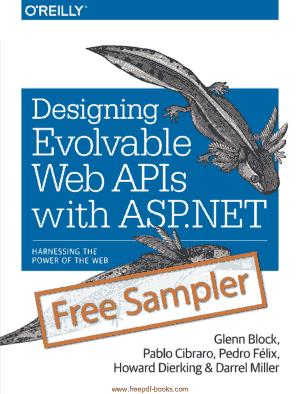 Free Download PDF Books, Designing Evolvable Web Apis With ASP.Net