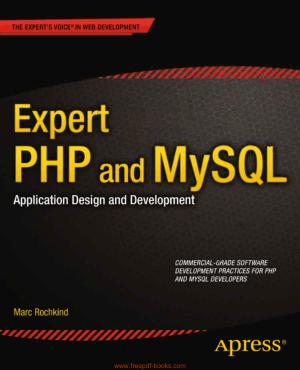 Free Download PDF Books, Expert PHP And MySQL