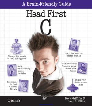 Free Download PDF Books, Head First C Programming