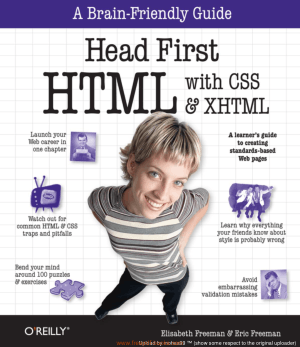 Free Download PDF Books, Head First HTML With CSS And XHTML