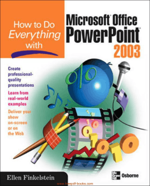 Free Download PDF Books, How To Do Everything With Microsoft Office Powerpoint 2007