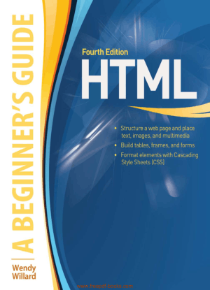HTML A Beginners Guide 4th Edition