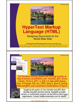 Free Download PDF Books, HTML Language Designing Documents For The World Wide Web