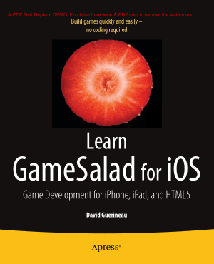 Free Download PDF Books, Learn Gamesalad For iOS