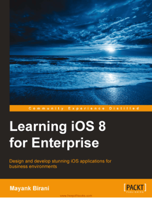 Free Download PDF Books, Learning iOS 8 For Enterprise