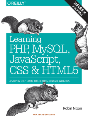Learning PHP MySQL Javascript CSS And HTML5