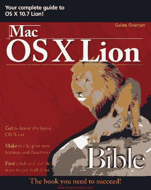 Free Download PDF Books, Mac Os X Lion Bible
