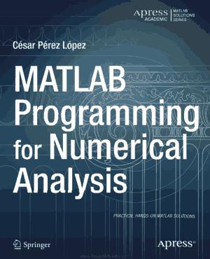 Free Download PDF Books, MATLAB Programming For Numerical Analysis