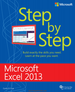 Free Download PDF Books, Microsoft Excel 2013 Step By Step